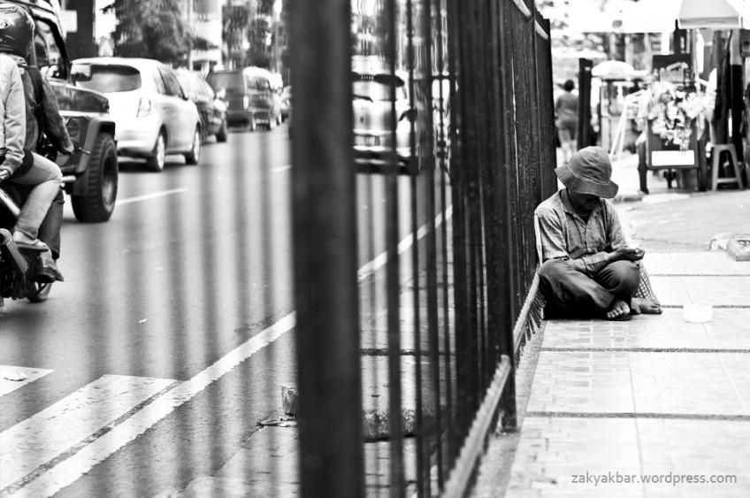 the beggar by zaky akbar