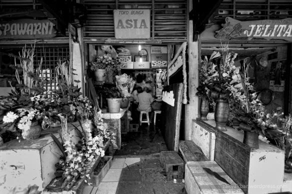 flower seller by zaky akbar