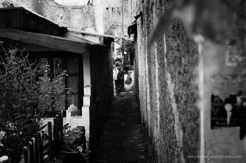 in alley by zaky akbar
